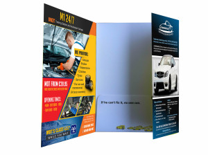 Three Panel Presentation Folder Printing NYC