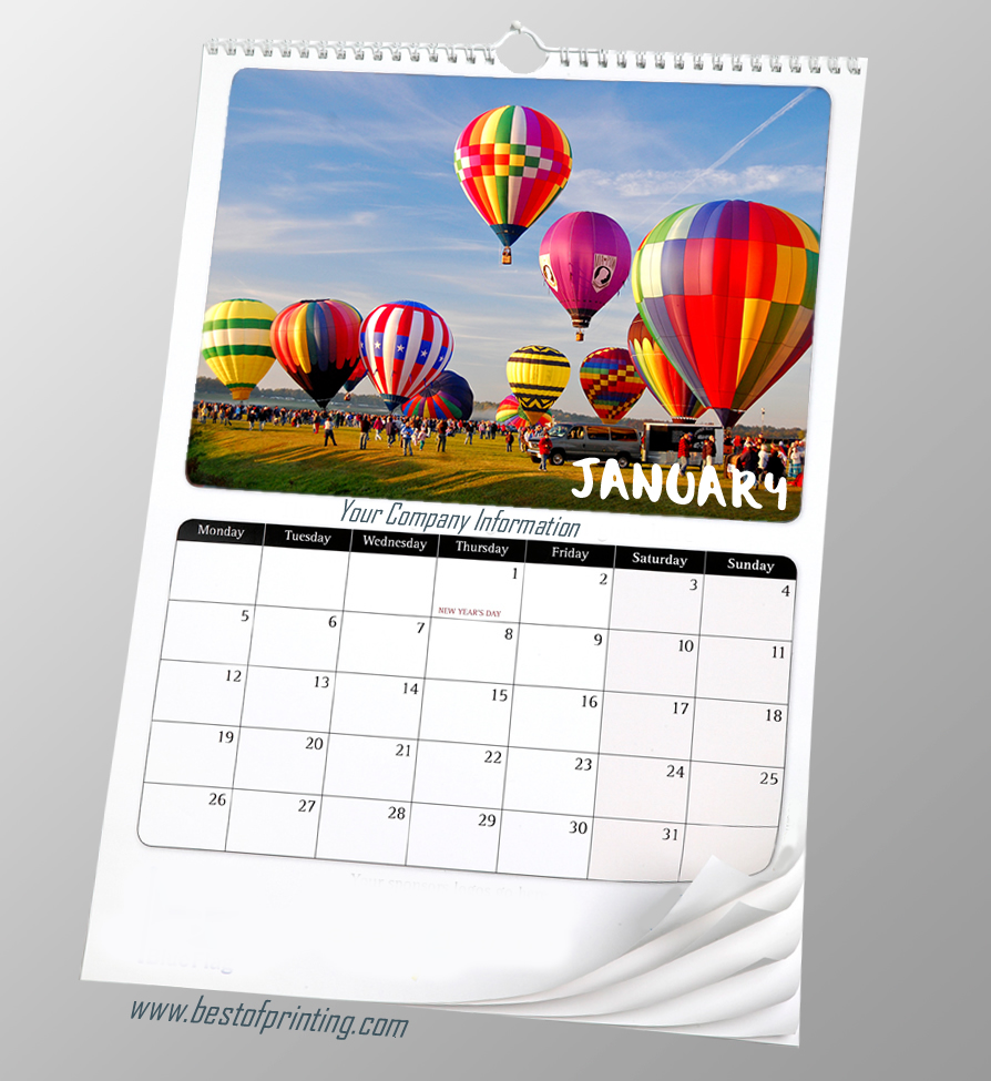 Personalized wall Calendars Printing New York