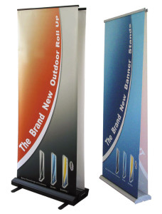 Double Sided Roll Up Banner New York