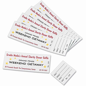 Perforated Event Tickets Printing Brooklyn