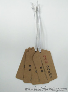 Kraft Swing Tags with String Manhattan