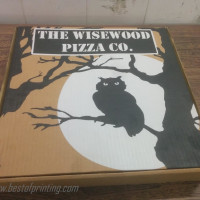 Screen Printed Pizza Box NYC