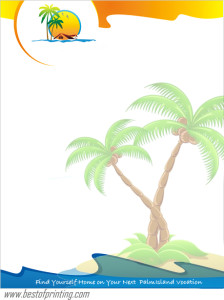 Full Color Printed Letterhead NYC
