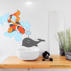 Die Cut Wall Decal Printing Manhattan