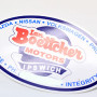 Oval Bumper Stickers Printing Long Island