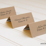 Table Tent Name Cards Printing New York