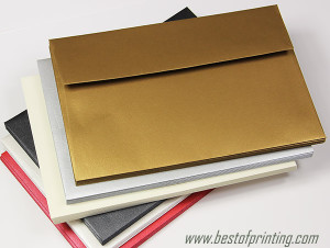Metallic Gusset Envelopes Printing Brooklyn