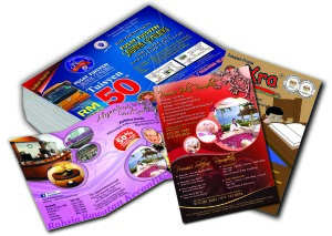 Full Color Both sides Printed Flyers