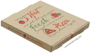 Full Color Printed Pizza Box NYC