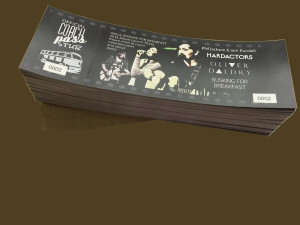 Bulk Event Tickets Printing Los Angeles