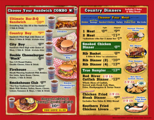 Full Color Menus Printing