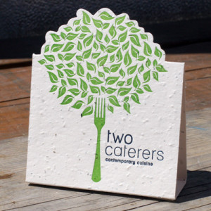 Die Cut Table Tents