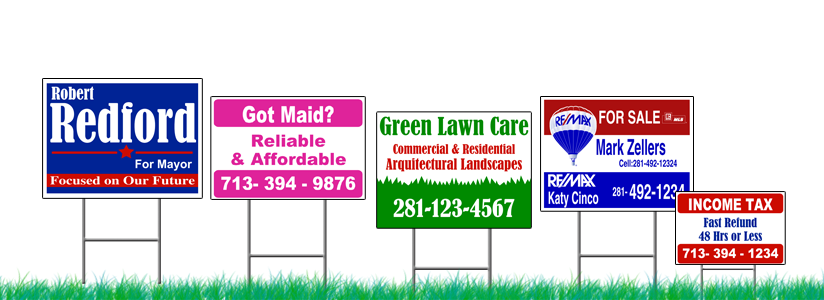 Yard Sign Printing Near Me Nyc Cheap Yard Signs